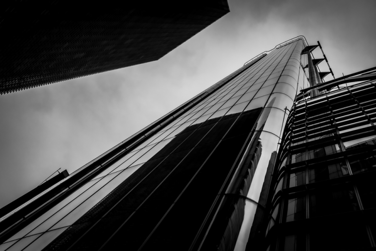 exterior of london office block